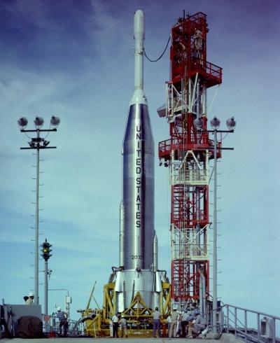 Носители первых лет Космической эры представляли собой комбинацию летавших и нелетавших ракет (на фото – Atlas-Able при запуске зонда Pioneer P-3)
