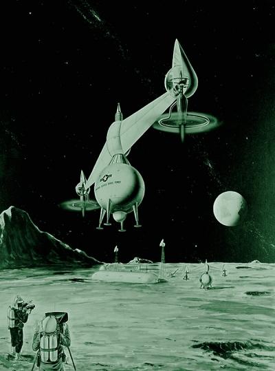 Проекты аппаратов для исследования Луны появились в конце 1950-х