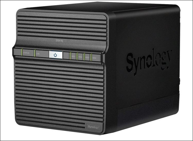 CES 2016: доступный NAS-сервер Synology DiskStation DS416j с