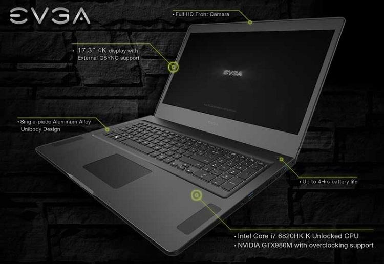 Компьютер EVGA SC17