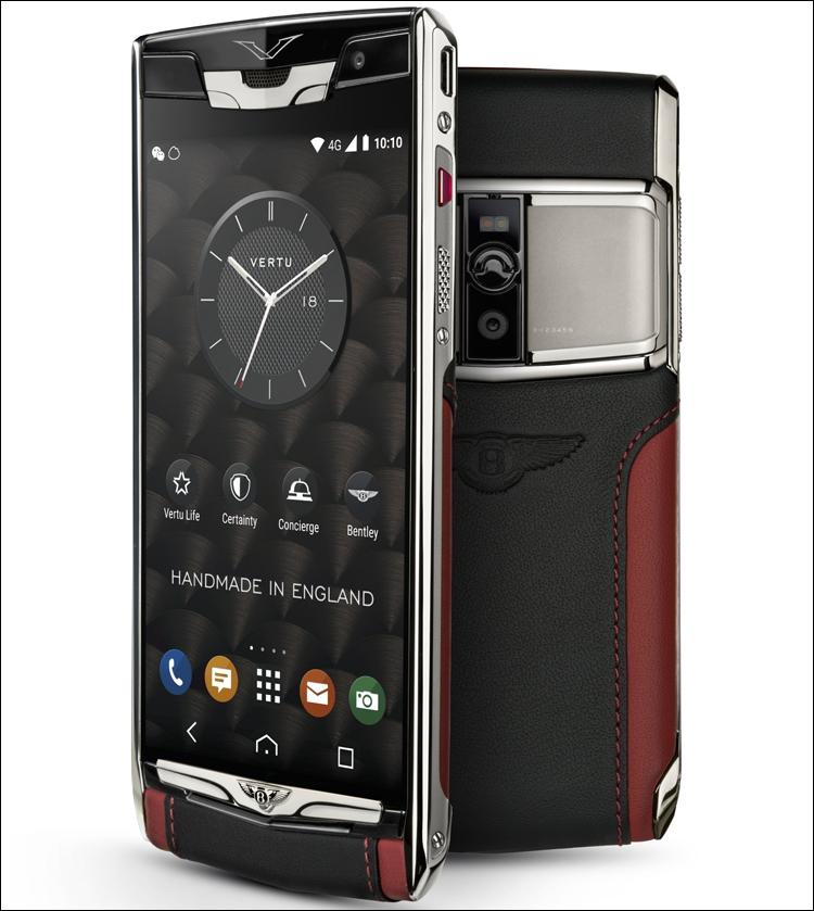 Смартфон от Vertu и Bentley