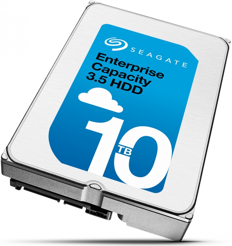 Seagate Enterprise Capacity 10 Тбайт