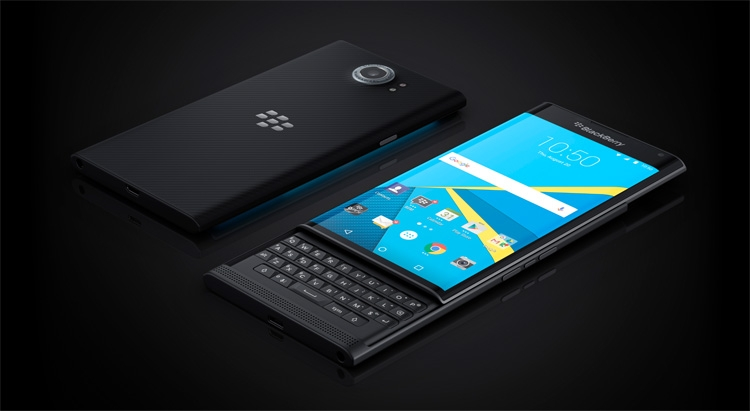 BlackBerry Priv - первый Android-смартфон компании