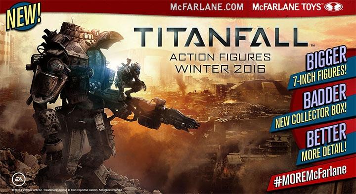Реклама игрушек по мотивам игры Titanfall