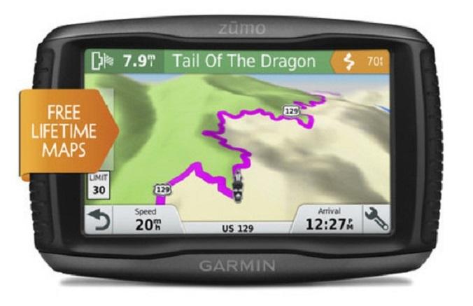 """Garminzumo 395LM и 595LM: GPS-навигаторы для мотоциклов"""""""