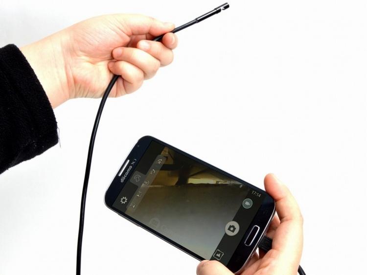 Эндоскоп из смартфона своими руками