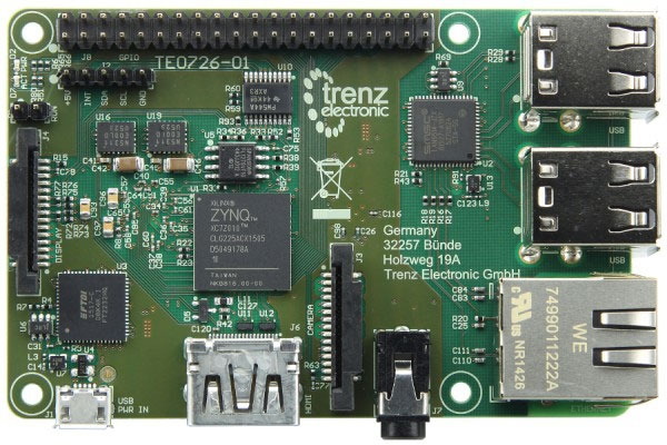 ZynqBerry (Trenz Electronic)