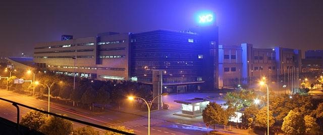 Действующий завод китайской компании XMC Memory Fab