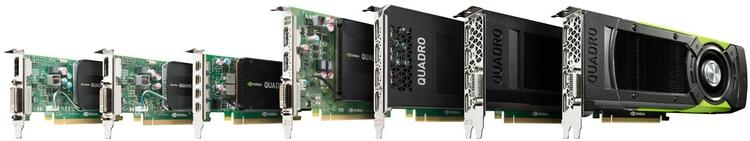 Ускорители NVIDIA Quadro: такие разные и все вместе