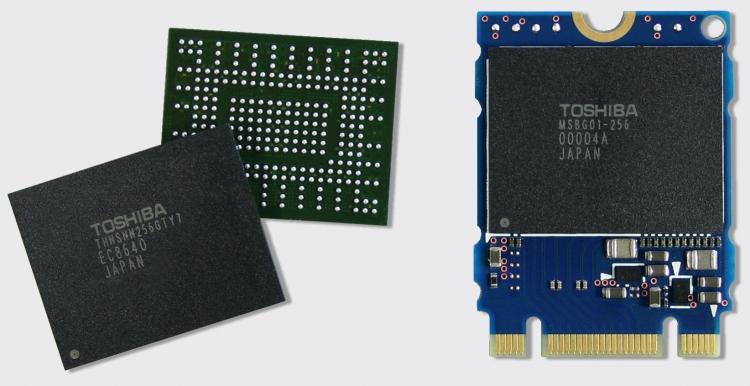 BGA SSD подготовки Toshiba