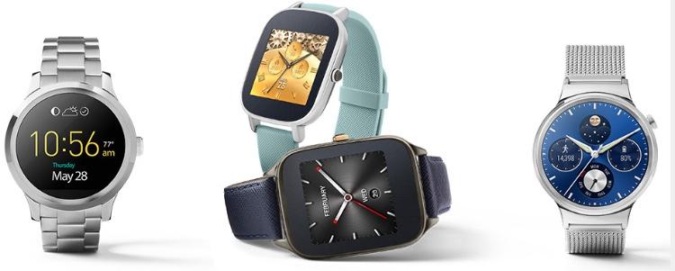 Часы на основе Google Андроид Wear
