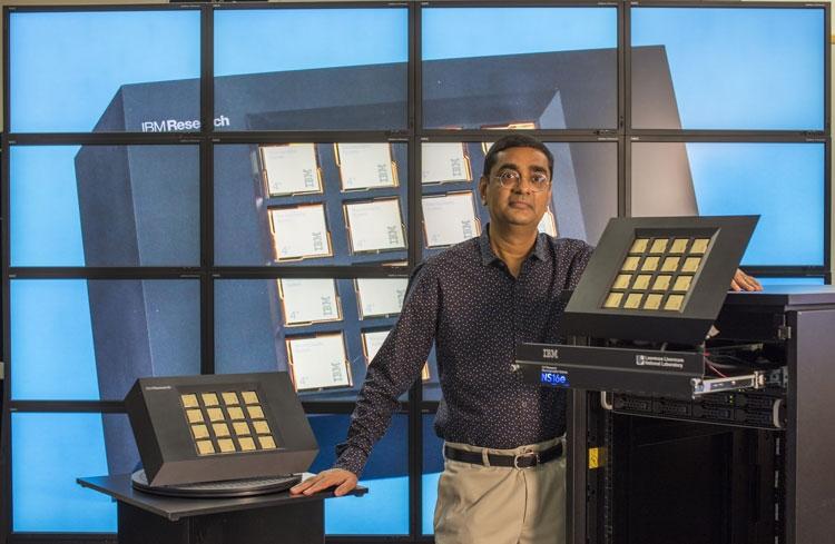 Основной создатель «когнитивного» микропроцессора IBM, Дхармендра Модха (Dharmendra С. Modha)