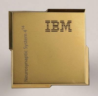 Микропроцессор IBM TrueNorth 2-го поколения (IBM)