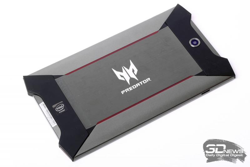 Acer Predator 8 – задняя панель