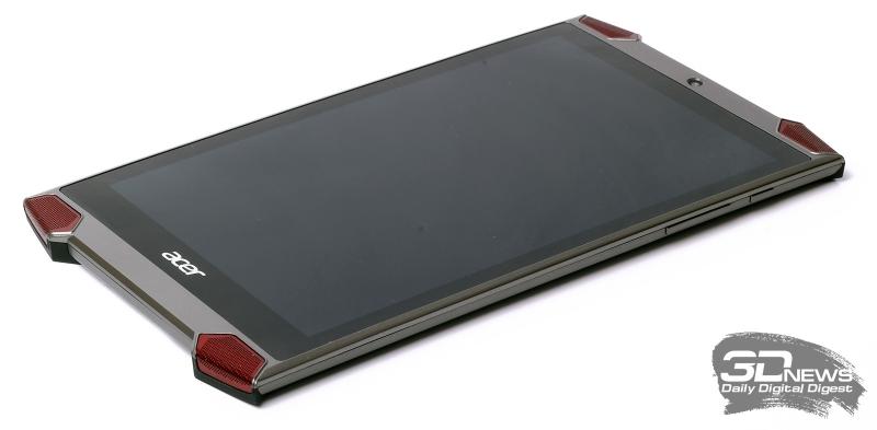 Acer Predator 8 – лицевая панель