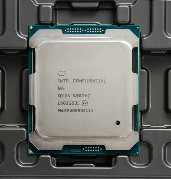 Частота говорит о том, что перед нами флагман — Core i7-6950X