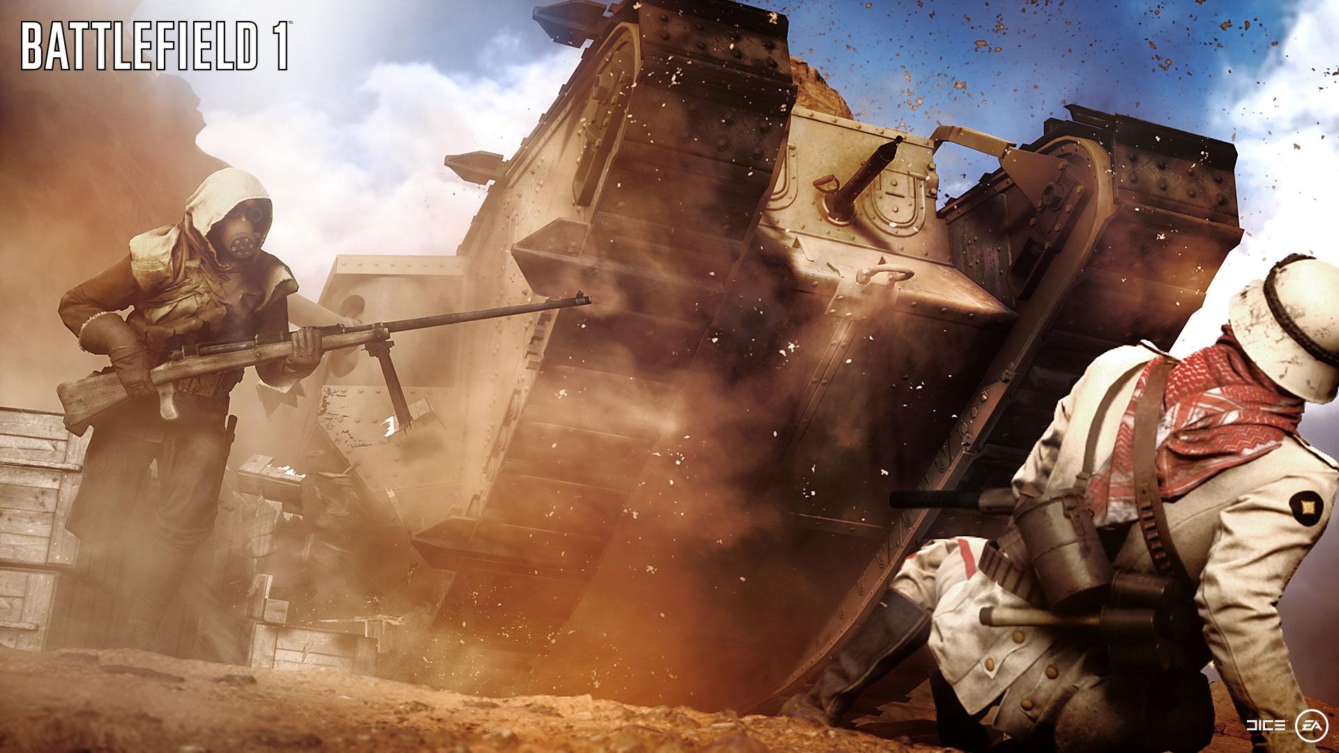 Обои воина, electronic arts, Battlefield 1, окопы. Игры foto 8