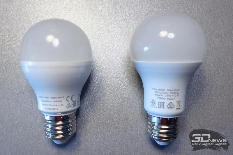 Лампы с узким и широким углом освещения