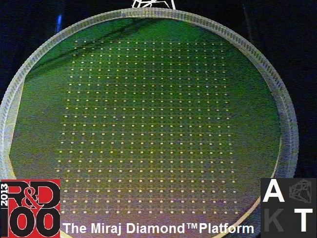 Фирменная технология носит название Miraj Diamond Platform