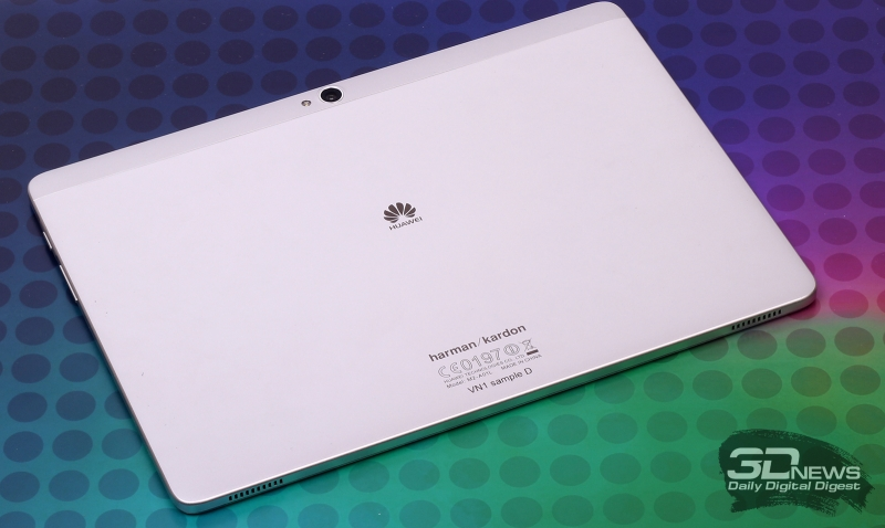Huawei MediaPad M2 10.0 LTE Premium Edition – задняя панель