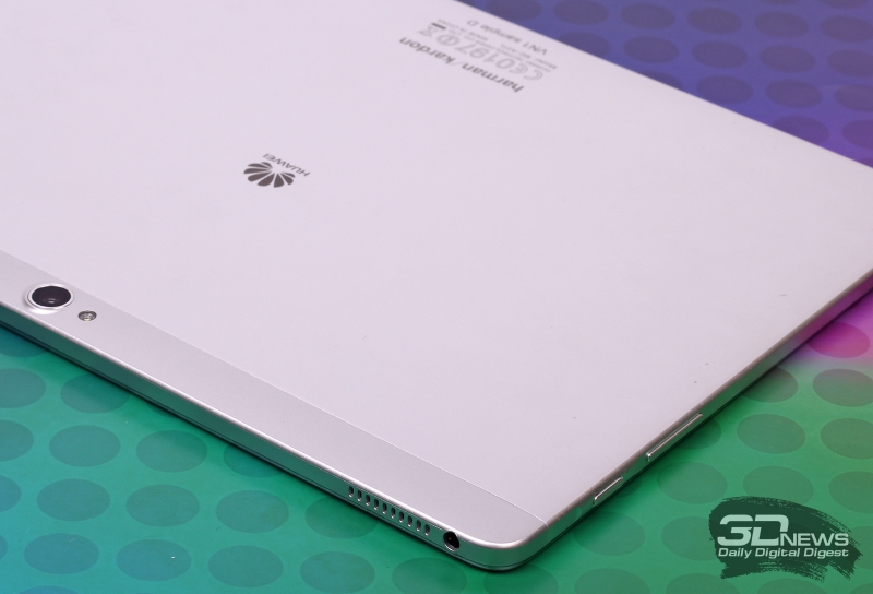 Huawei MediaPad M2 10.0 LTE Premium Edition – аппаратные клавиши