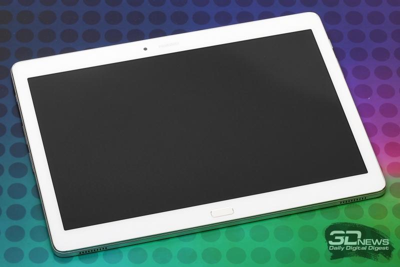 Huawei MediaPad M2 10.0 LTE Premium Edition – лицевая панель