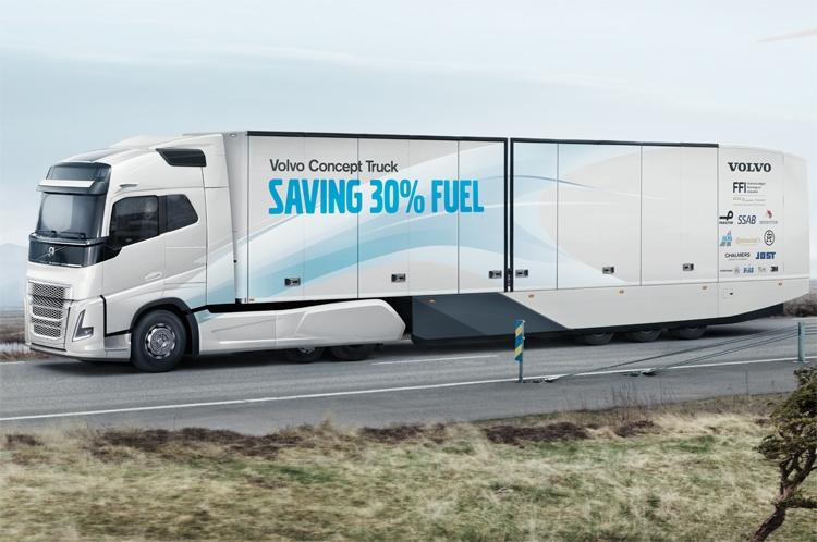 volvo грузовик концепт кар 2015 года