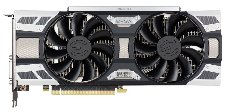 Видеокарта EVGA GeForce GTX 1070