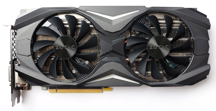 Видеокарта ZOTAC GeForce GTX 1070 AMP Edition
