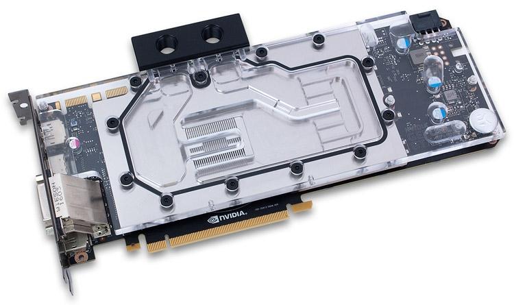 Водоблок EK-FC1070 GTX Nickel