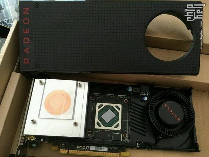 Кулер Radeon RX 480 имеет очень простую конструкцию и не расчитан на серьёзный разгон