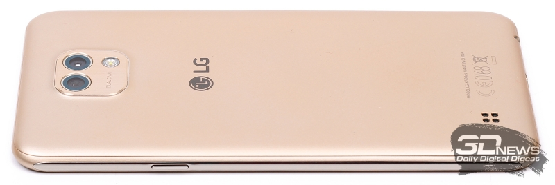 LG X cam – боковой торец