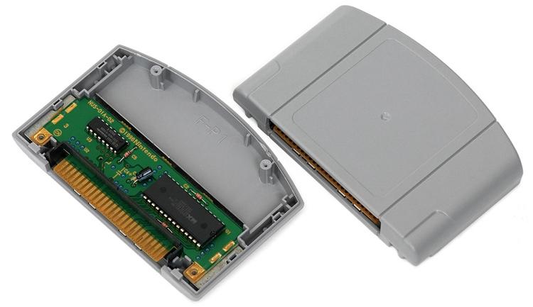 Никто не знает, какими будут картриджи для Nintendo NX, но многие помнят, какими они были, к примеру, во времена Nintendo 64 (на фото)