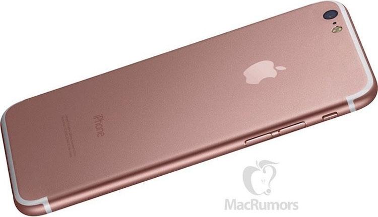 Предположительный внешний вид iPhone 7 с новым дизайном антенны и выпуклостью в области камеры (MacRumors)