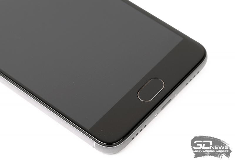 Meizu M3 Note – центральная клавиша со сканером отпечатков