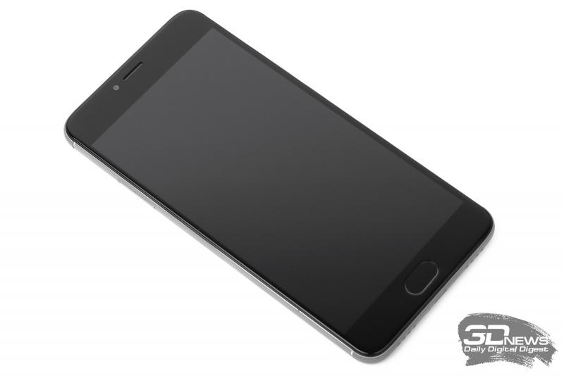 Meizu M3 Note – лицевая панель