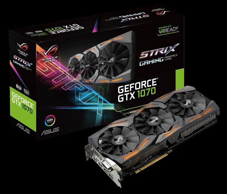 ASUS ROG Strix GeForce GTX 1080 (ROG Strix-GTX1070-8G-Gaming)
