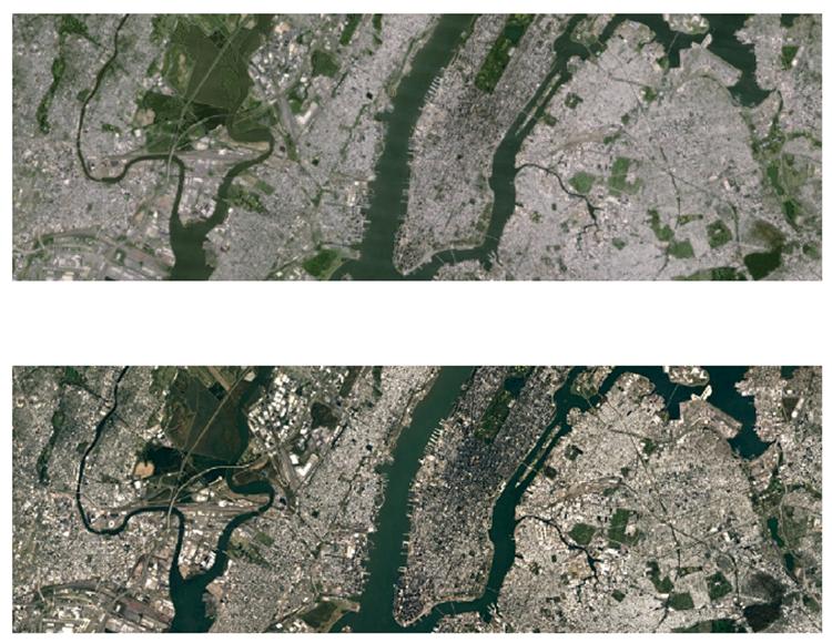 свежие спутниковые снимки высокого разрешения