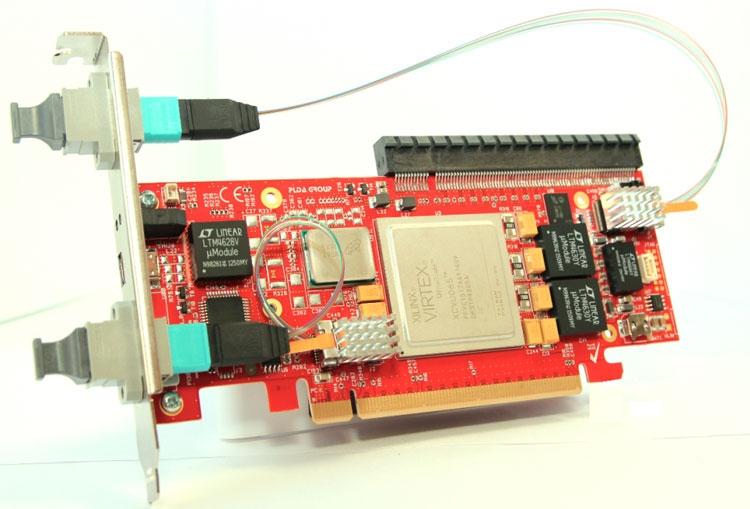 Комплектдля разработчиков PLDA Gen4SWITCH с интерфейсом PCIe 4.0 (PLDA)