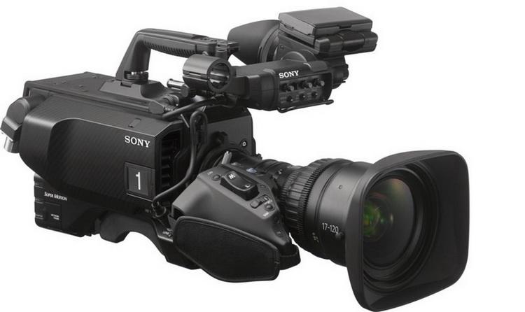 Первая камера, использующая новый чип — Sony HDC-4800