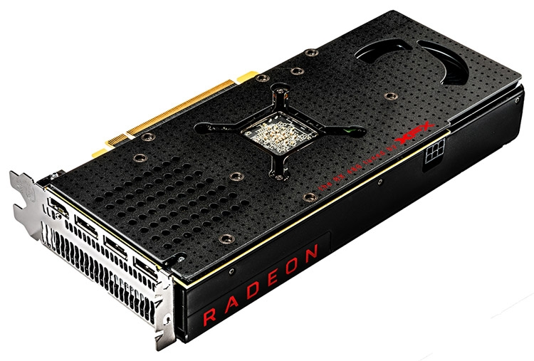Видеокарта XFX Radeon RX 480 Black Edition