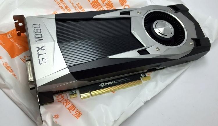 Первое фото настольной GeForce GTX 1060