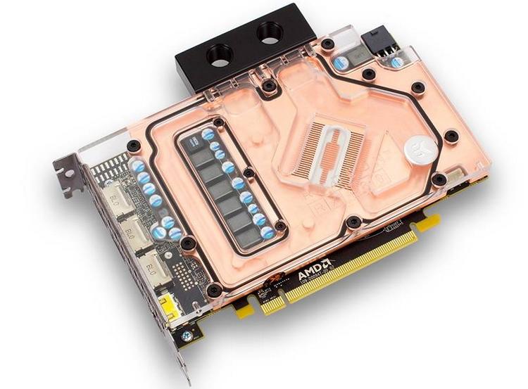 Конструция интегрального водоблока для Radeon RX 480 довольно проста