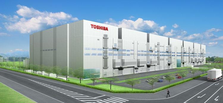 Производственный комплекс Toshiba в Йоккаичи (Toshiba)
