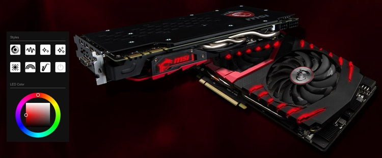 Видеокарта MSI GeForce GTX 1080 Gaming Z 8G