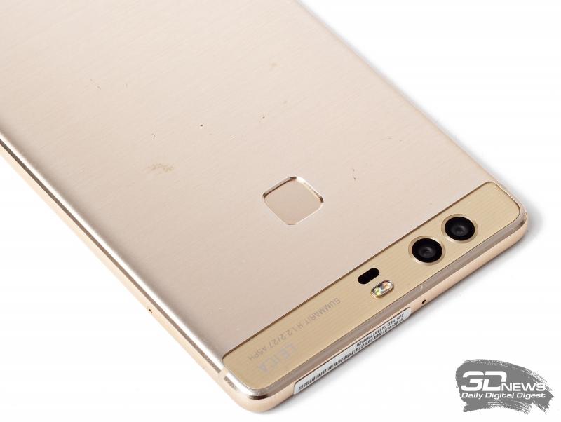 Huawei P9 Plus – дактилоскопический сенсор