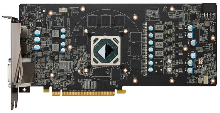 Видеокарта MSI Radeon RX 480 Gaming X 8G - PCB