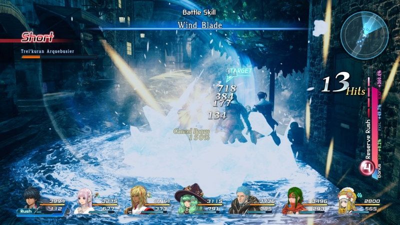 В игре есть контратаки, нужно лишь нажать кнопку защиты во время выпада врага. Интересно, разработчики понимали, что в такой «каше» подобный трюк физически невозможно выполнить?