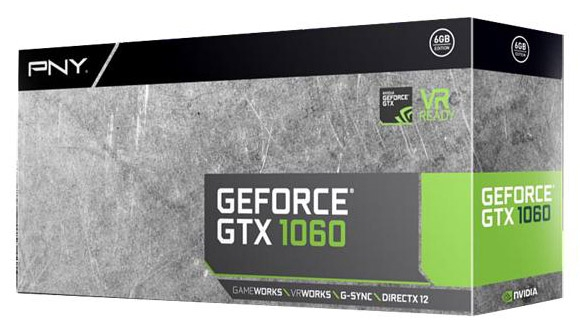Видеокарта PNY GeForce GTX 1060