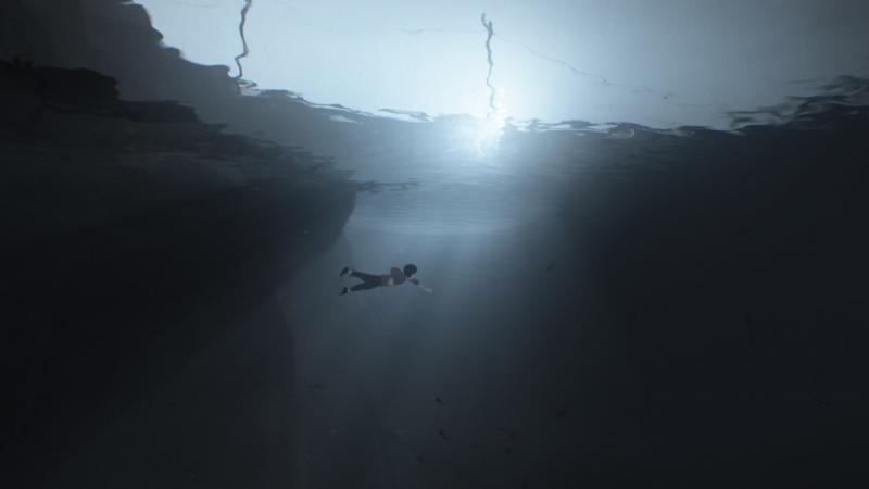 Создается ощущение, что добрая треть игры проходит в воде